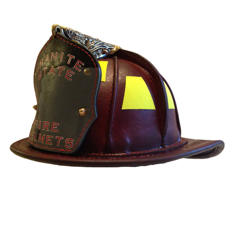 TL-2 NFPA Traditional Leather Natural, Base Price  includes choice of goggles and Nape Suspension with detachable earlaps
