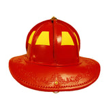 TL-2 NFPA Traditional Leather Red, Base Price  includes choice of goggles and Nape Suspension with detachable earlaps