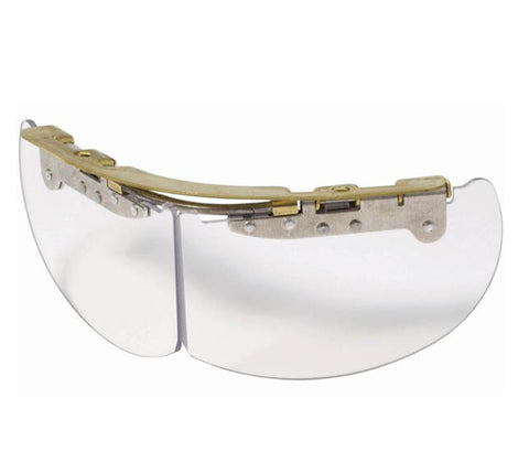 Bourke Flip Down Eye Shields (clear, non-NFPA) FREE installation with helmet purchase