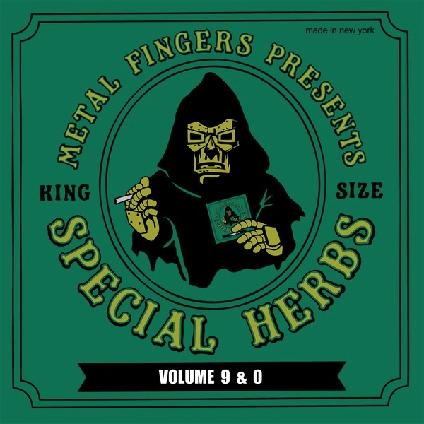 MF DOOM - SPECIAL HERBS VOLUME 9 & 0 2LP+7""