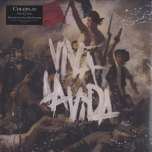 COLDPLAY - VIVA LA VIDA LP