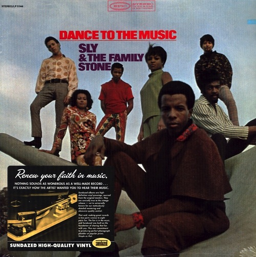 SLY & THE FAMILY STONE - DANCE TO THE MUSIC LP