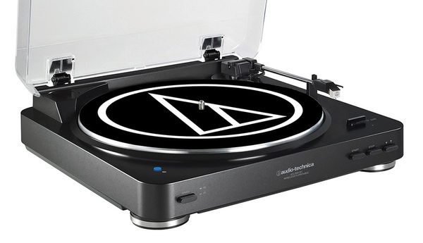 AUDIO-TECHNICA - AT-LP60BK Fully Automatic Belt-Drive Stereo Turntable
