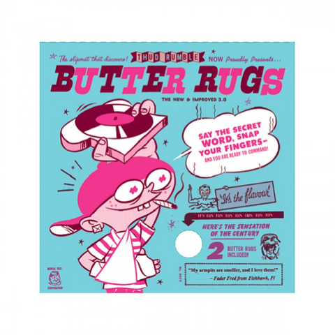 "BUTTER RUGS - 7"" WHITE"