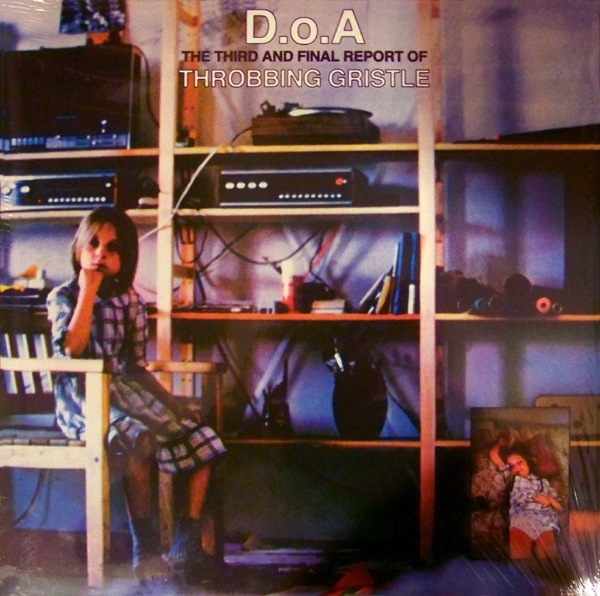 THROBBING GRISTLE - DOA LP
