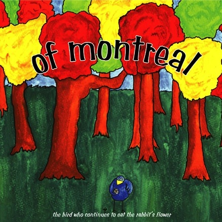 OF MONTREAL - THE BIRD WHO CONTINUES TO EAT THE RABBIT'S FLOWER LP