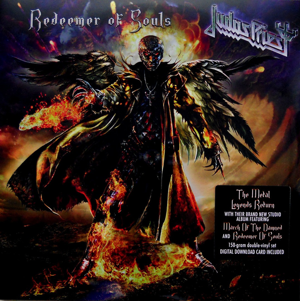 JUDAS PRIEST - REDEEMER OF SOULS 2LP (150 GRAM)