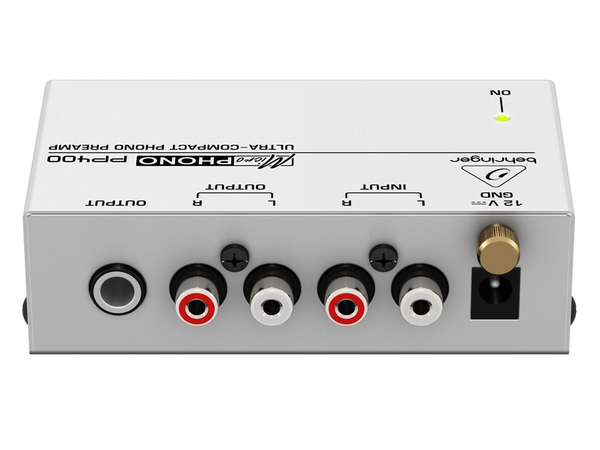 BEHRINGER - MICROPHONO PP400 PHONO PREAMP