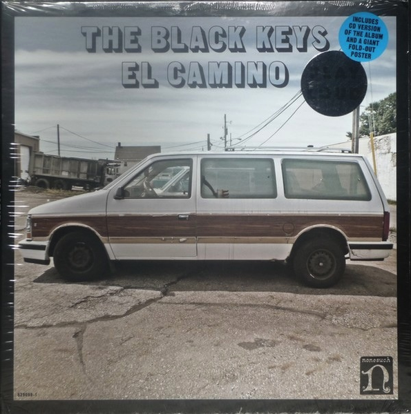 THE BLACK KEYS - EL CAMINO LP+CD