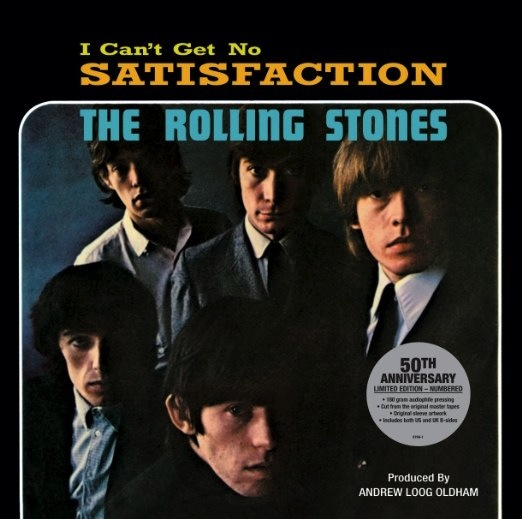 ROLLING STONES - SATISFACTION (12 INCH SINGLE)