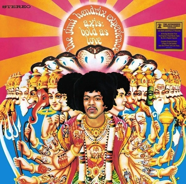 JIMI HENDRIX EXPERIENCE - AXIS: BOLD IS LOVE LP  (180 GRAM)
