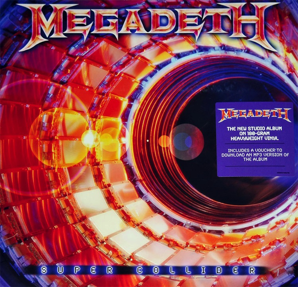 MEGADETH - SUPER COLLIDER LP