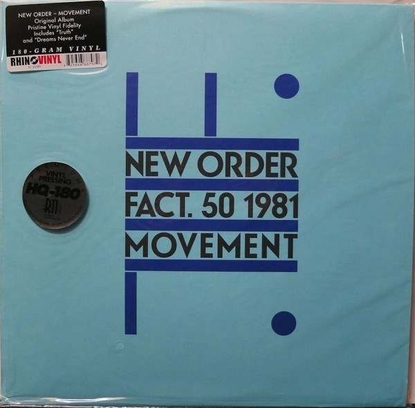 NEW ORDER - MOVEMENT LP (180G)
