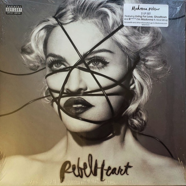 MADONNA - REBEL HEART 2LP