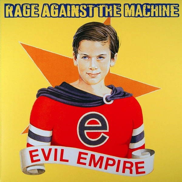 RAGE AGAINST THE MACHINE - EVIL EMPIRE LP (180 GRAM)