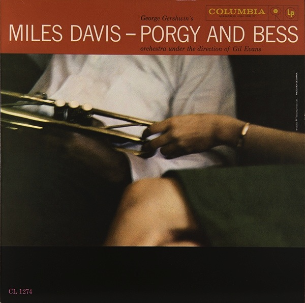 MILES DAVIS - PORGY AND BESS LP  (MONO)