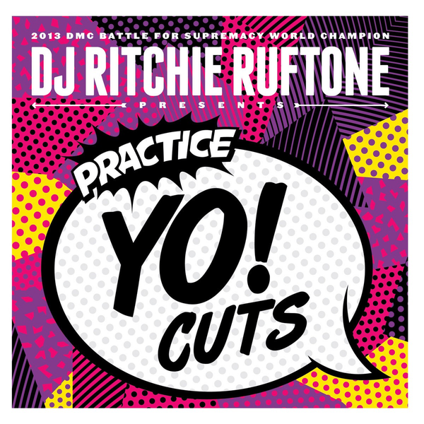 "Practice Yo! Cuts v1 12"" Neon Yellow"