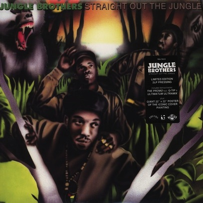 JUNGLE BROTHERS - STRAIGHT OUT THE JUNGLE 2LP