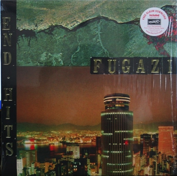 FUGAZI - END HITS LP   + DOWNLOAD CODE