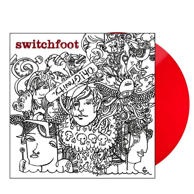 SWITCHFOOT - OH! GRAVITY. LP (TRANSPARENT RED)
