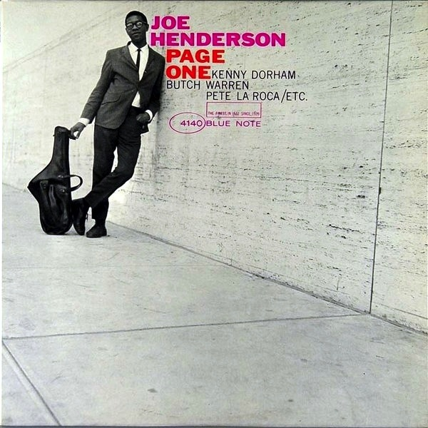 JOE HENDERSON - PAGE ONE LP