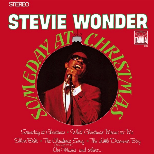 STEVIE WONDER - SOMEDAY AT CHRISTMAS LP