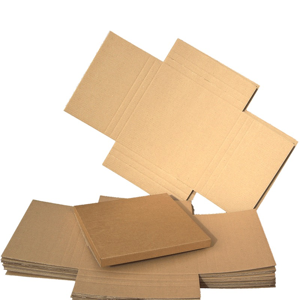 12in Record Shipping Mailers - Cardboard Multi-Depth