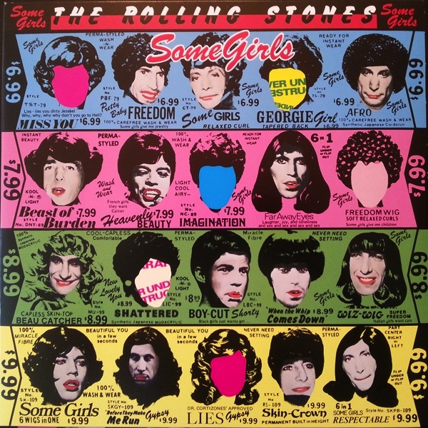 ROLLING STONES - SOME GIRLS LP
