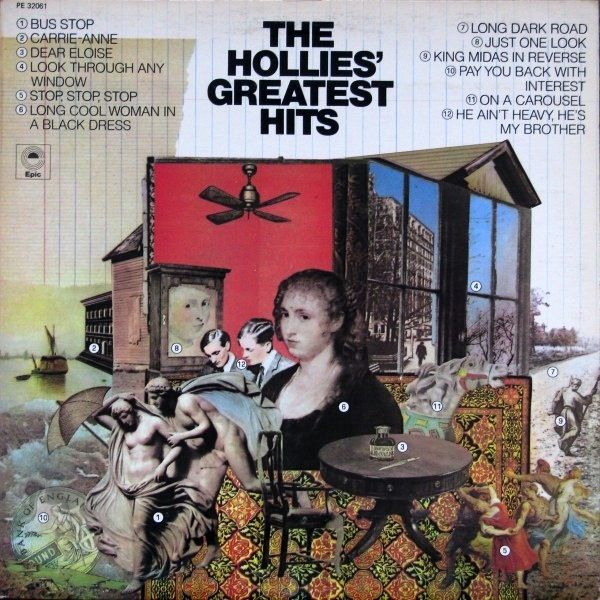 THE HOLLIES - THE HOLLIES' GREATEST HITS (180G) LP