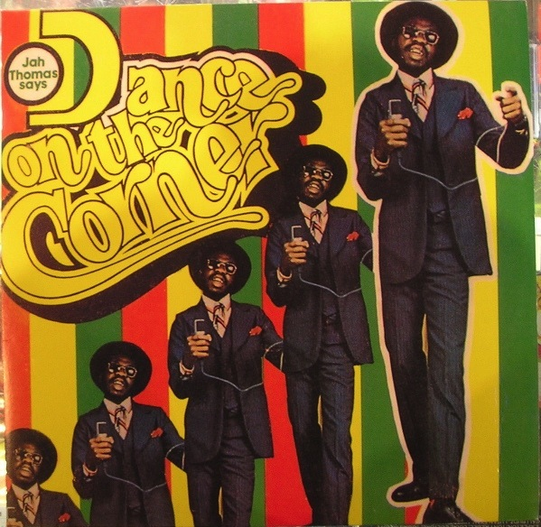 JAH THOMAS - DANCE ON THE CORNER LP