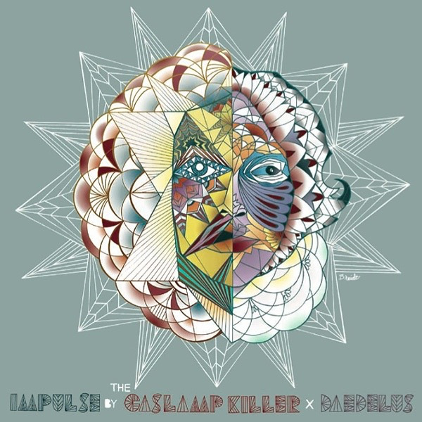 THE GASLAMP KILLER X DAEDELUS - IMPULSE B/W IMPULSE (FREE THE ROBOTS) 7""