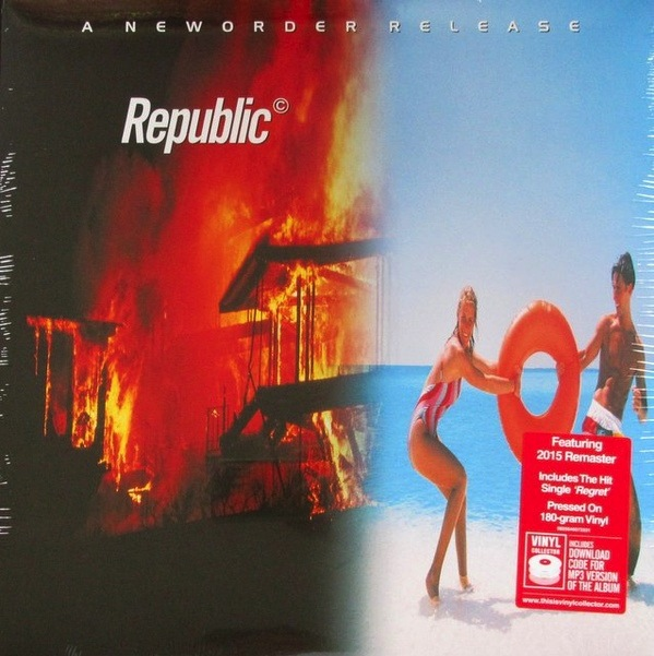 NEW ORDER - REPUBLIC LP (180 GRAM)