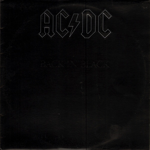 AC/DC - BACK IN BLACK LP