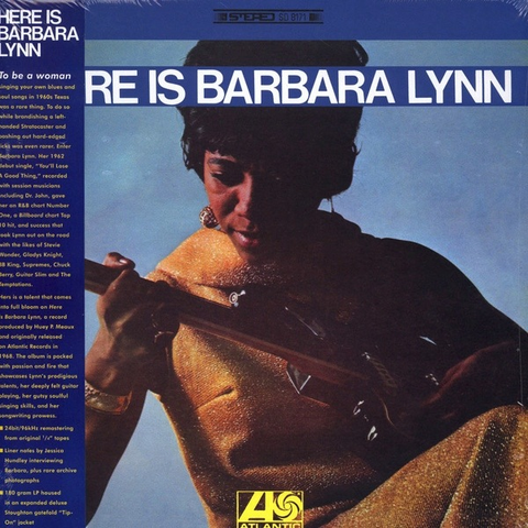 BARBARA LYNN - HERE IS BARBARA LYNN LP