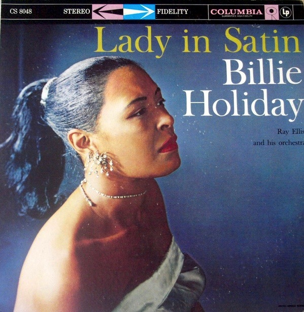 BILLIE HOLIDAY - LADY IN SATIN LP