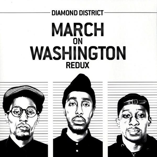 DIAMOND DISTRICT - MARCH ON WASHINGTON REDUX LP