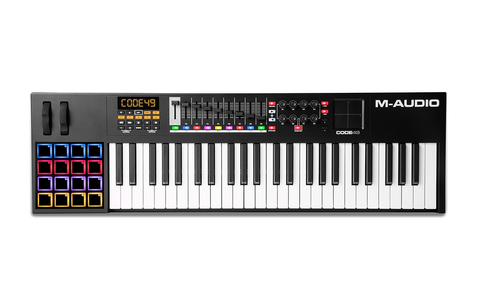 M-AUDIO - CODE 49 BLACK USB MIDI CONTROLLER WITH X/Y PAD