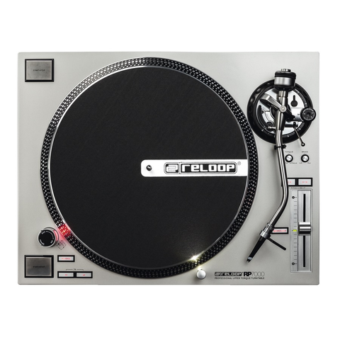Reloop - RP-7000 Silver Direct Drive Turntable