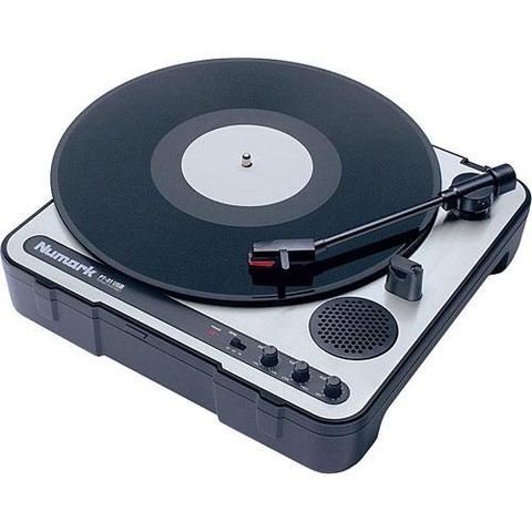 NUMARK - PT01 PORTABLE USB TURNTABLE