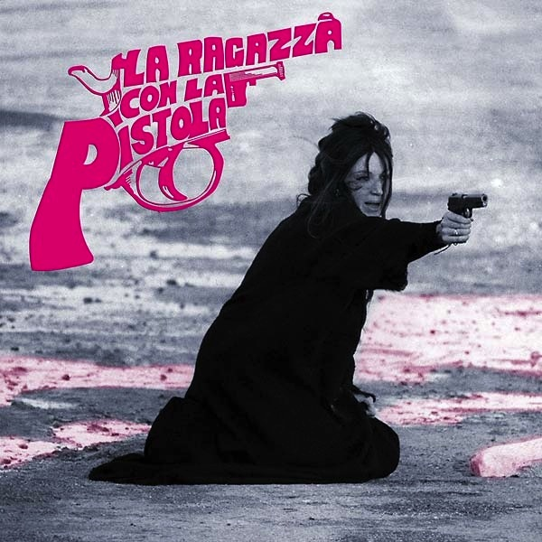 PEPPINO DE LUCA - LA RAGAZZA CON LA PISTOLA SOUNDTRACK LP