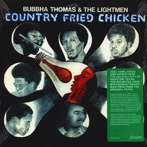 BUBBHA THOMAS & THE LIGHTMEN - COUNTRY FRIED CHICKEN LP