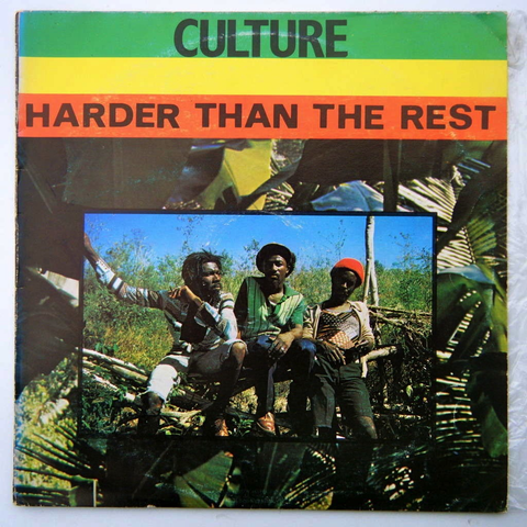 CULTURE - HARDER THAN THE REST LP
