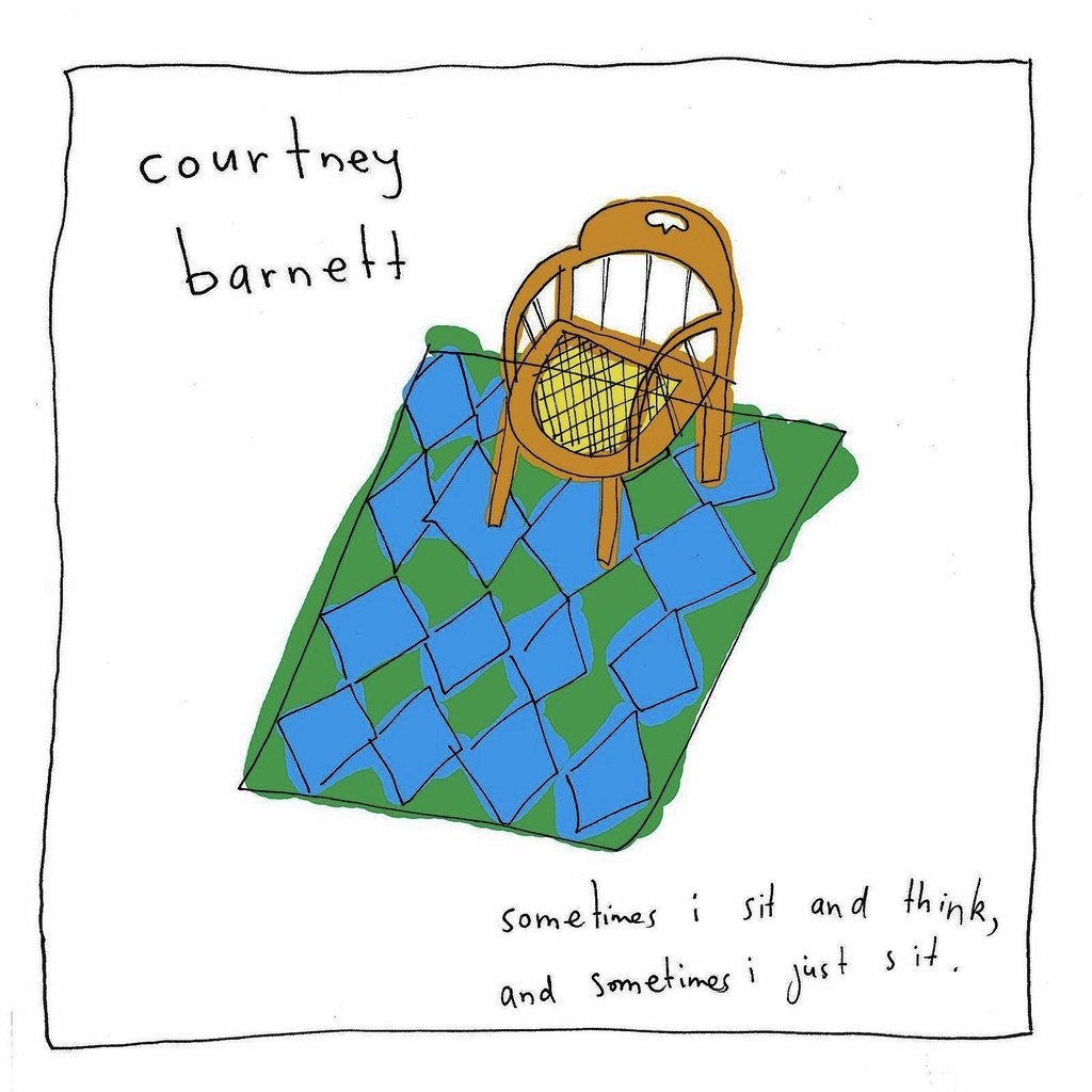 COURTNEY BARNETT - SOMETIMES I SIT AND THINK LP