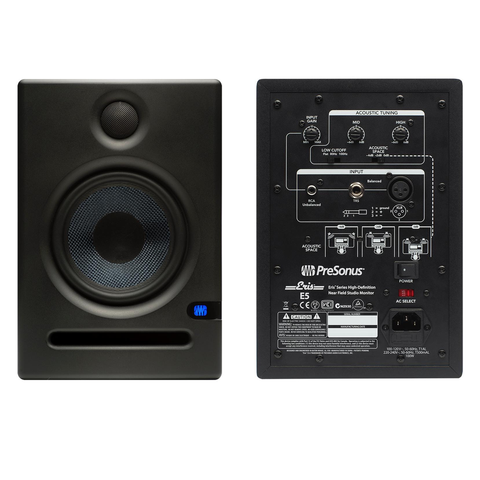 PRESONUS-  ERIS E5 HIGH-DEFINITION ACTIVE STUDIO MONITOR