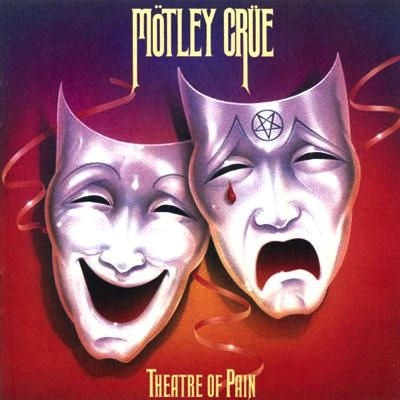 MOTLEY CRUE - THATRE OF PAIN LP