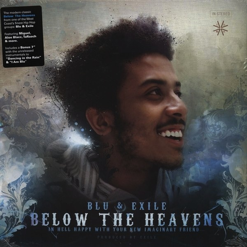 BLUE & EXILE - BELOW THE HEAVENS 2LP+7