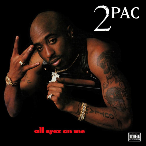 2PAC - ALL EYEZ ON ME 4LP
