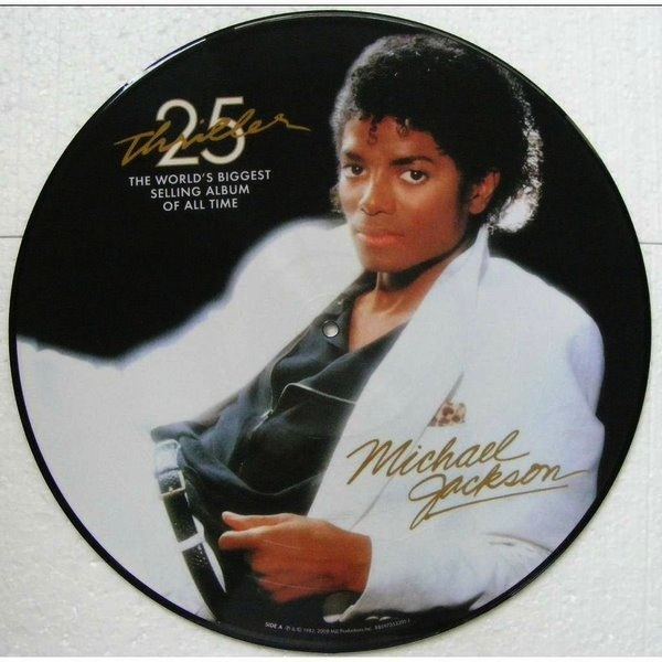MICHAEL JACKSON - THRILLER 25TH ANIVERSARY PICTURE DISC LP