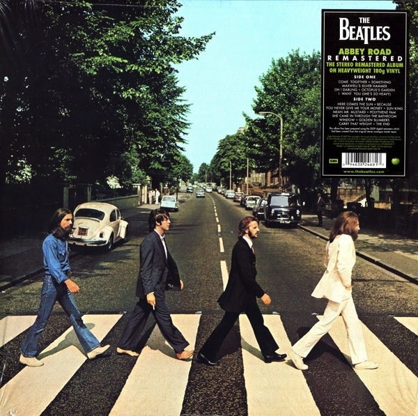 THE BEATLES - ABBEY ROAD (180G) LP
