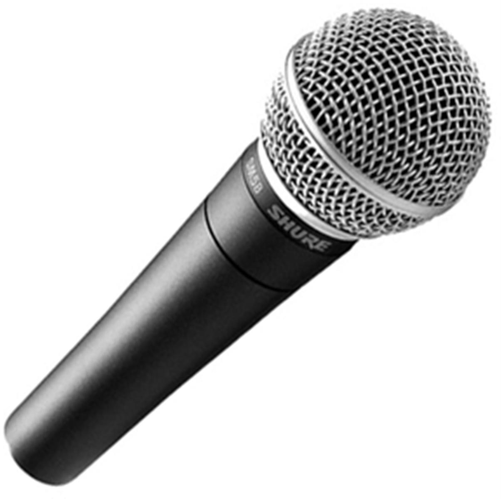 Rental - Shure SM58 (Stage Microphone)